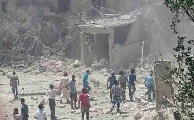 Save the Children-funded hospital for pregnant women bombed in Syria