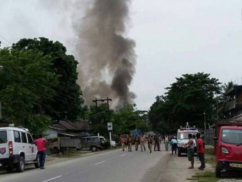 14 killed, 15 injured in India's Assam after militants open fire in market