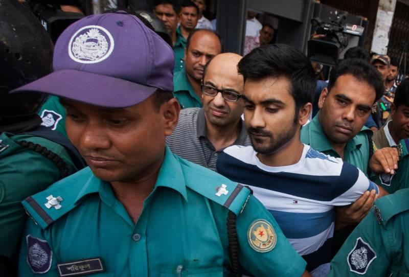 Bangladesh arrests two men for involvement in Dhaka restaurant attack