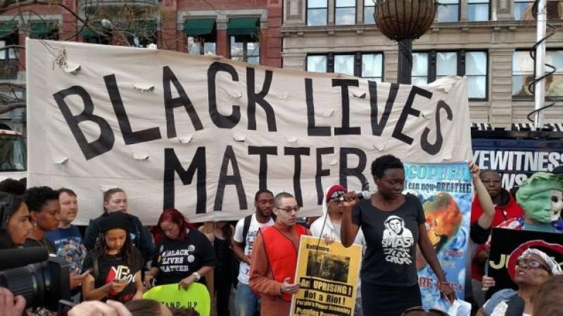 Black Lives Matter activists speak up for Palestine
