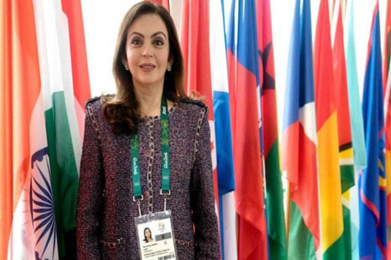 Cricket team owner Nita Ambani becomes first Indian IOC member
