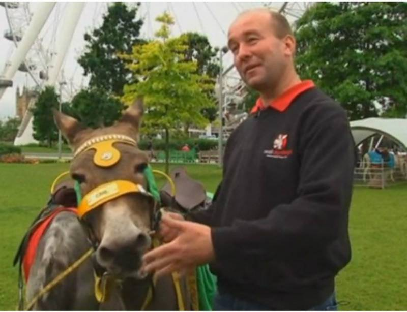 'Donkey whisperer' translates 'ee-aws' using technology