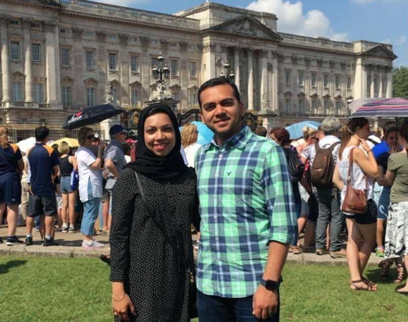 Muslim couple who faced on-plane Islamophobia finally opens up