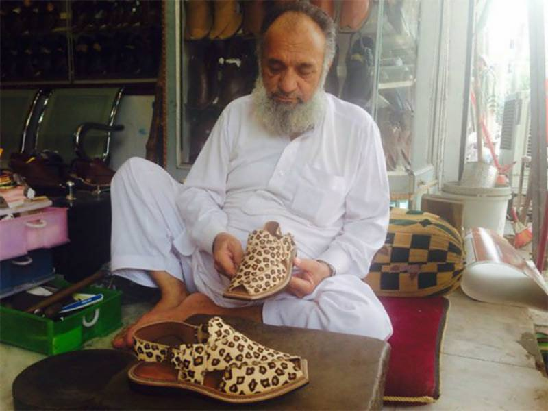 Nawaz Sharif's tiger-skin chappals are ready for delivery, announces shoemaker