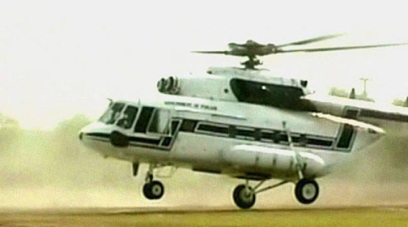 Pakistani helicopter crash-lands in Afghanistan, 7 on board captured