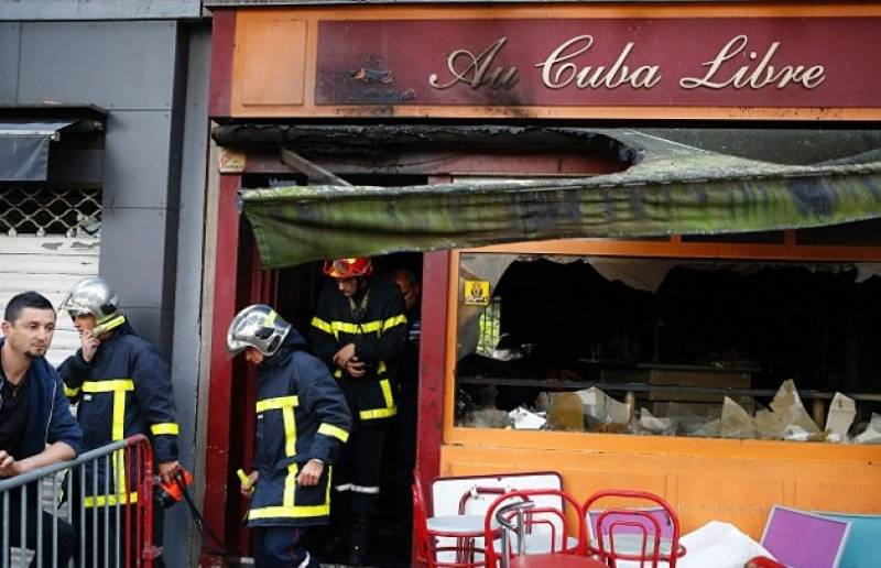 Fire at Bar in France kills 13 , leaves six injured