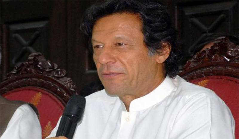 PTI Chief terms reference against him as 'blackmailing'