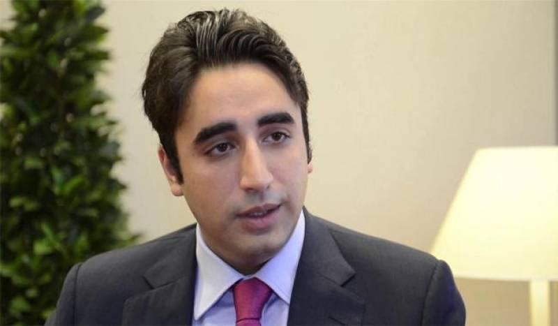 Bilawal Bhutto wishes good luck to #Tehreek_e_Ehtesab protestors