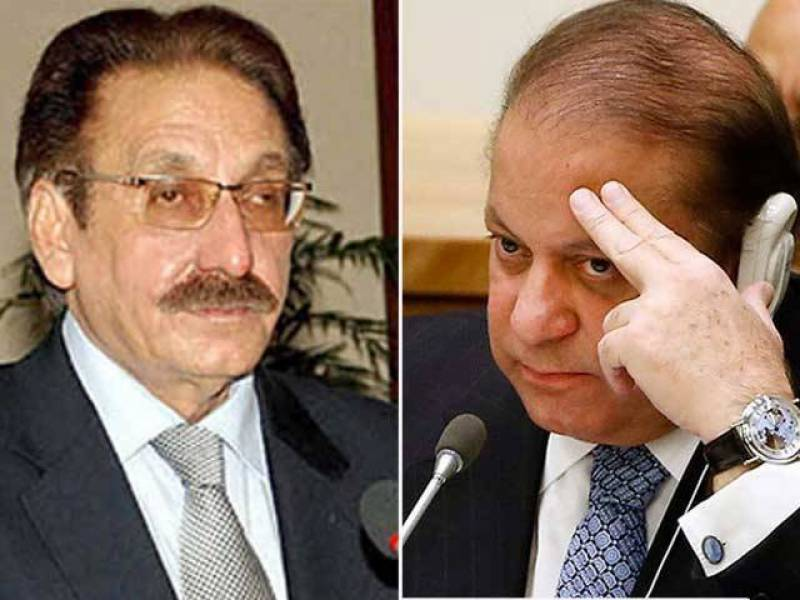Iftikhar Chaudhry seeks disqualification of PM Nawaz