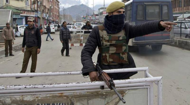 Kashmiri youth charged with sedition for Facebook post which told India to get out of the valley