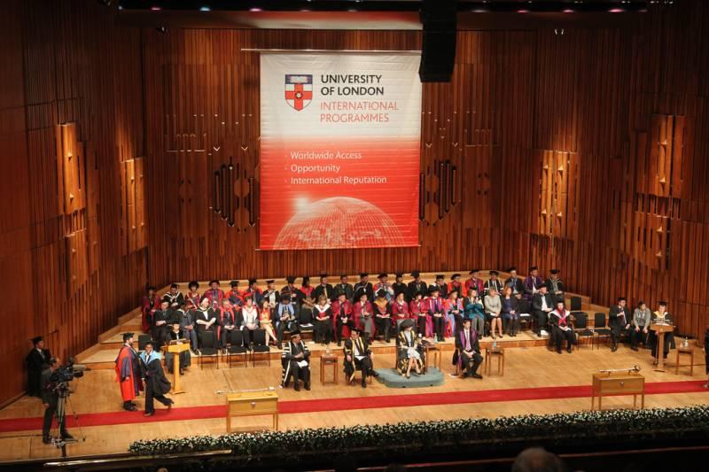 Three Pakistani students top University of London LLB exam