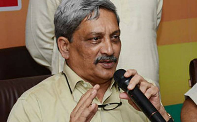 Going to Pakistan is same as going to hell: Indian minister Manohar Parrikar