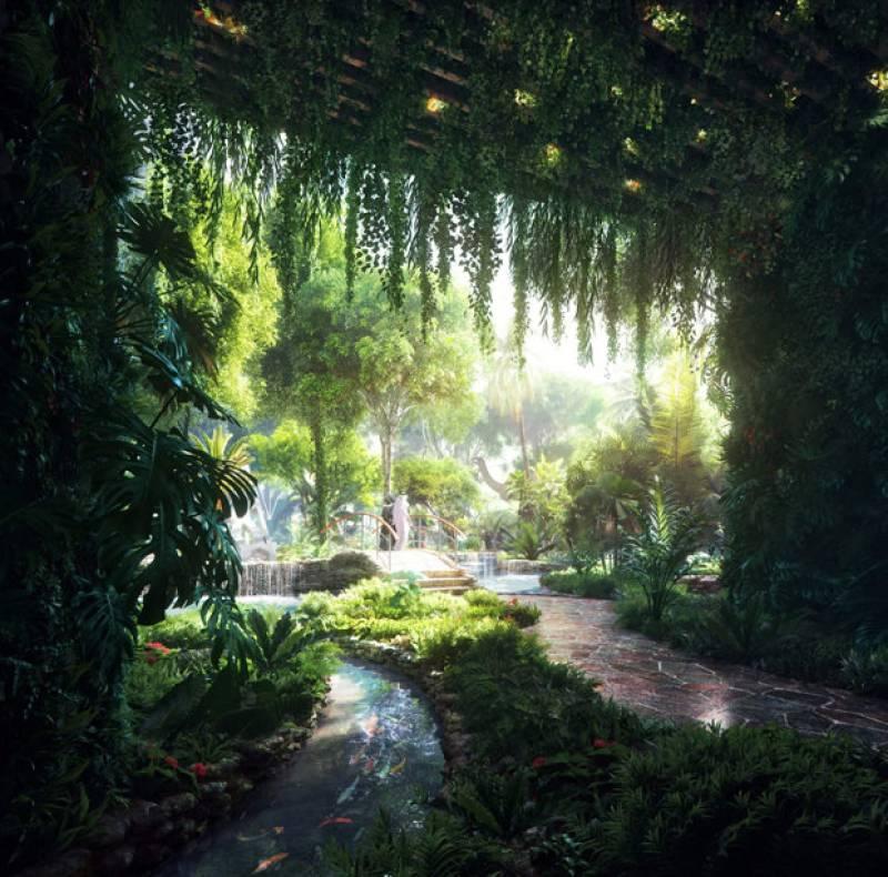 Unbelievable: This Dubai hotel has a complete rain-forest inside