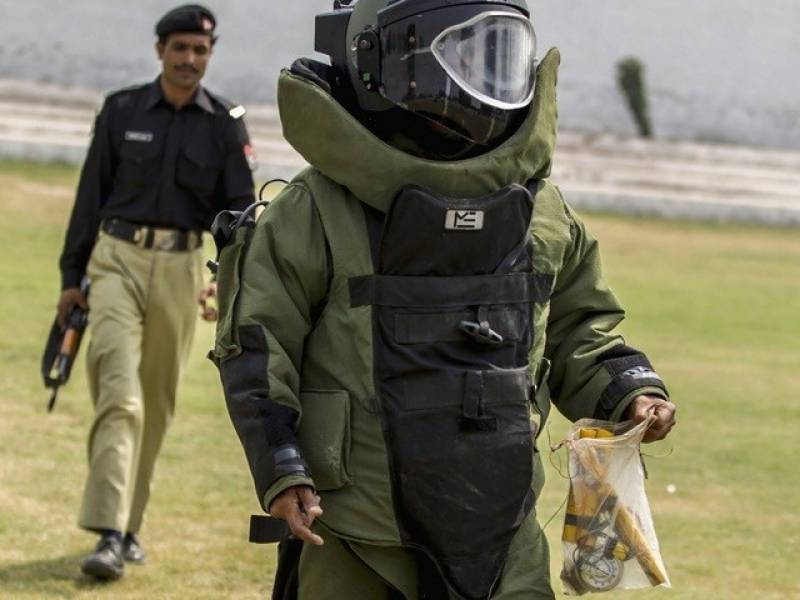 BDS official lost his life while defusing bomb in Naseerabad