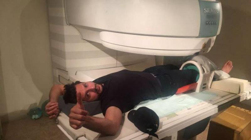 Shahid Afridi undergoes MRI scans in Lahore