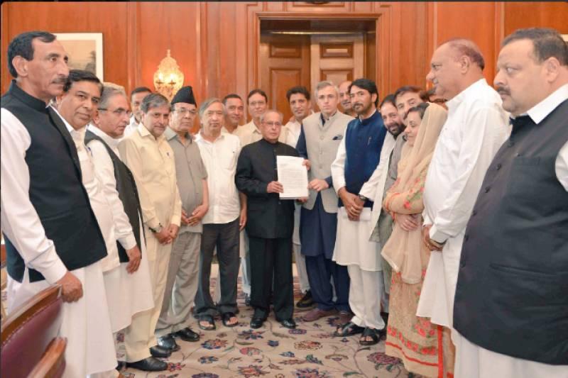 Former J&K CM Omar Abdullah urges Indian President to intervene and resolve Kashmir unrest