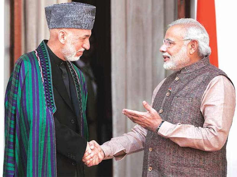 Hamid Karzai bolster's Modi's comments over Balochistan issue