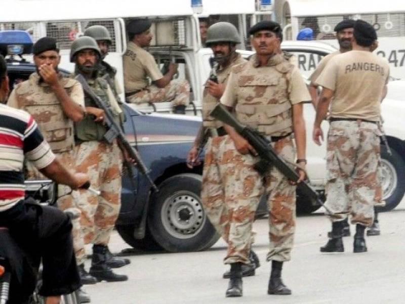 Rangers held two members of MQM's militant wing from Kemari