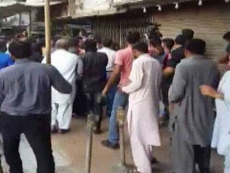 VIDEO:MQM protesters storm ARY News office for not providing the party with 'enough' media coverage
