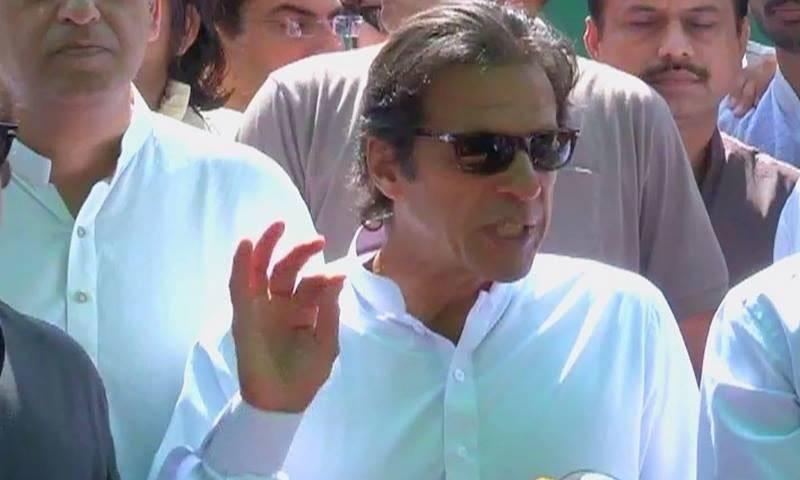 ECP issues notice to PTI chief Imran Khan for violating code of conduct