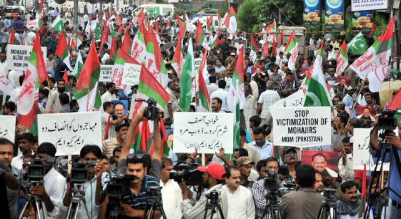 MQM chief apologises over anti-Pakistan remarks