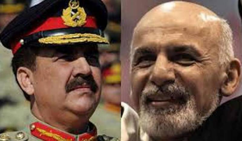 Army Chief telephones Afghan President, condemns university attack