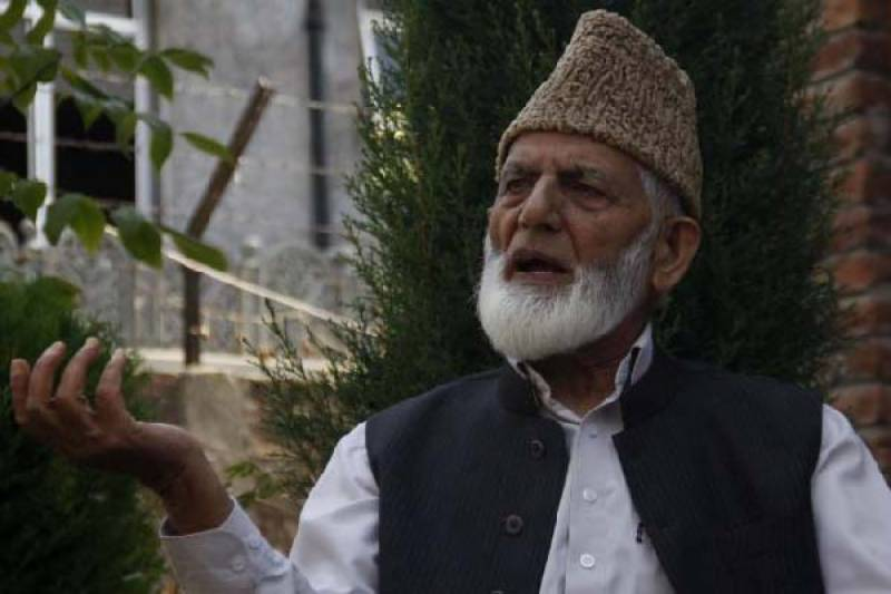 No surrender even if India sends whole army to IOK, says Ali Gilani
