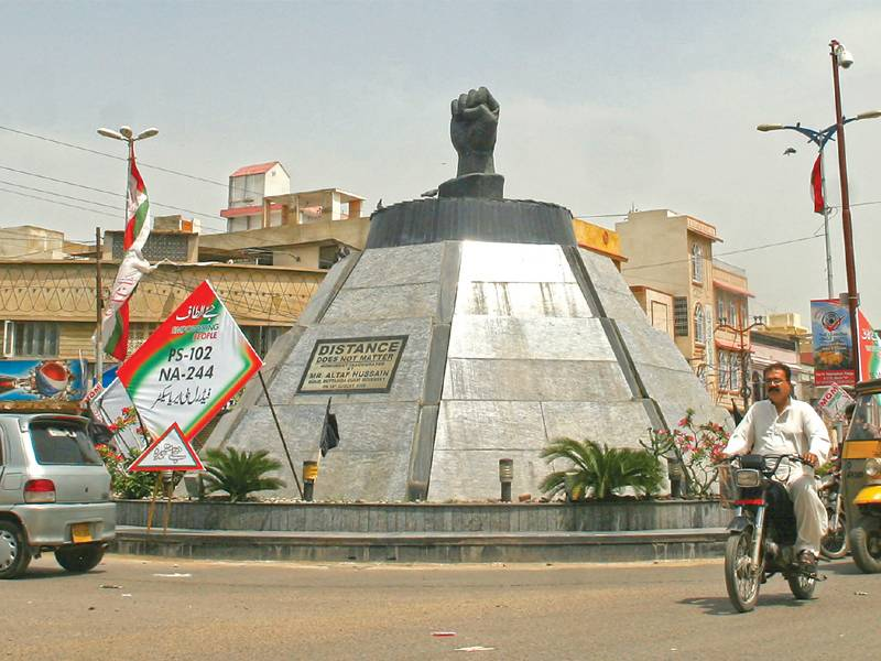 Posters of Altaf Hussain removed from Mukka Chowk and other parts of Sindh