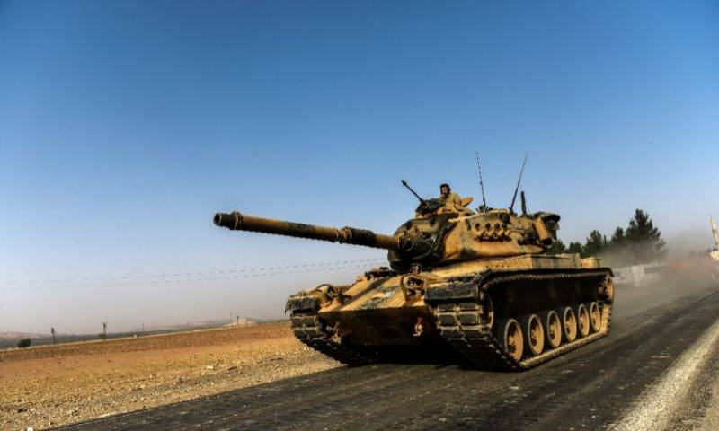 Turkey suffers first death in Syria campaign