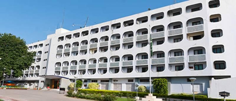 FO terms news about displeasure from White House towards Pakistani ambassador baseless