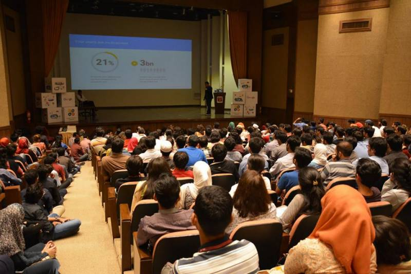 Google conducts its first session at IBA Karachi