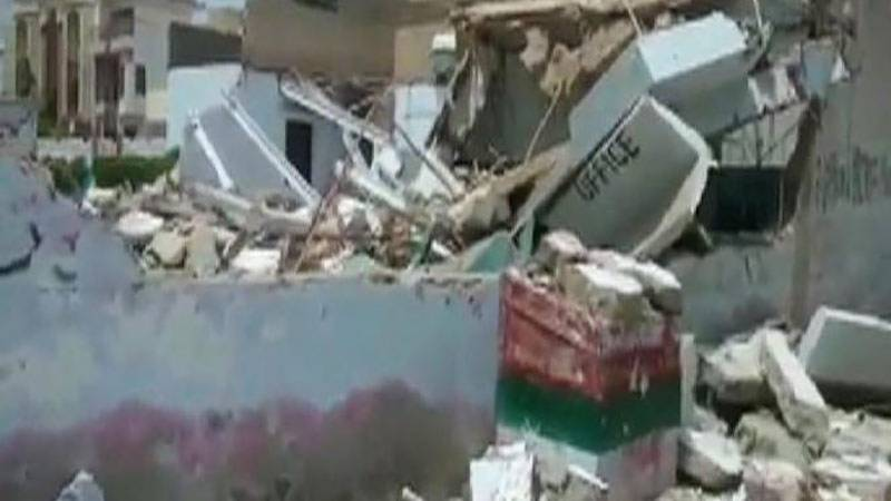 After Karachi, illegal MQM offices demolished in Hyderabad