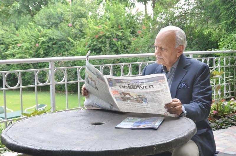 APNS mourns death of Pakistan Observer Editor-in-Chief Zahid Malik