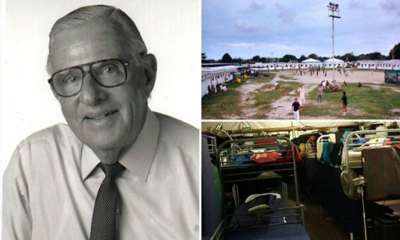 Former judge offers body swap with refugee in Australia's camps