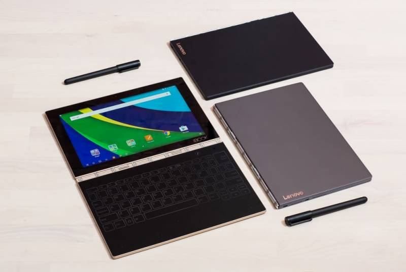 Lenovo bucks trend; lets you write with real ink