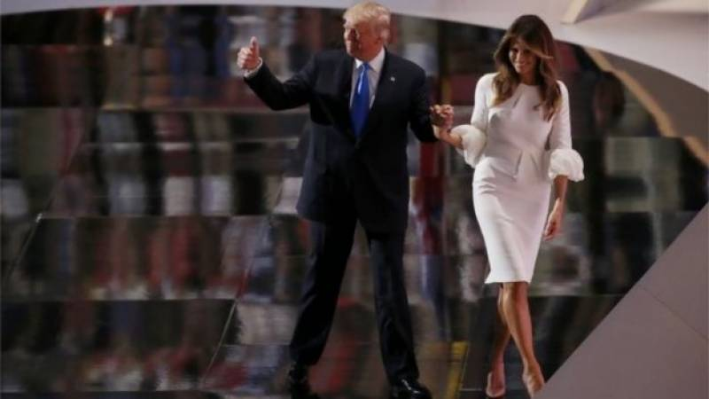 Melania Trump sues Daily Mail over 'prostitution' allegations