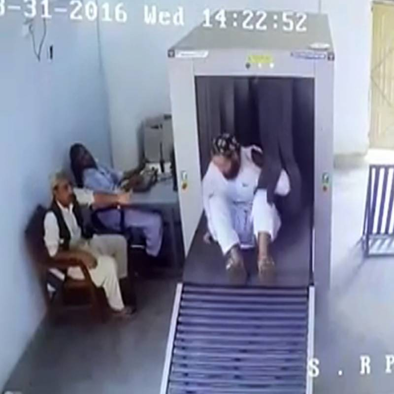 The most hilarious security camera footage to come out of Pakistan