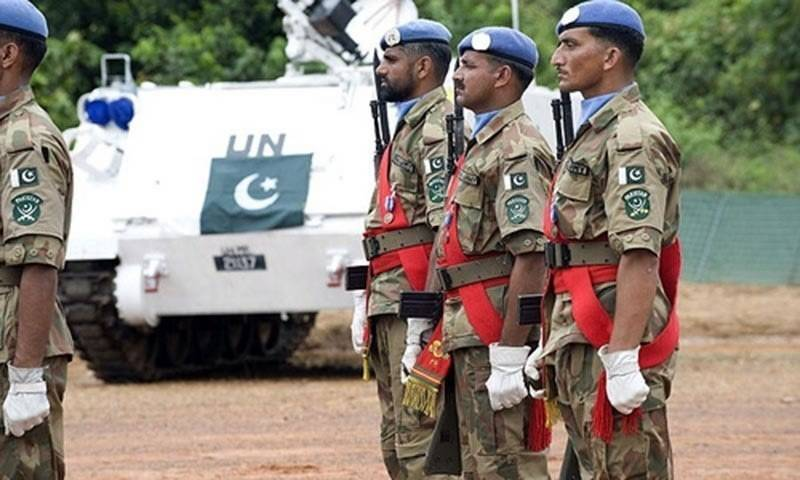 UN acknowledges role played by Pakistani peacekeeping troops