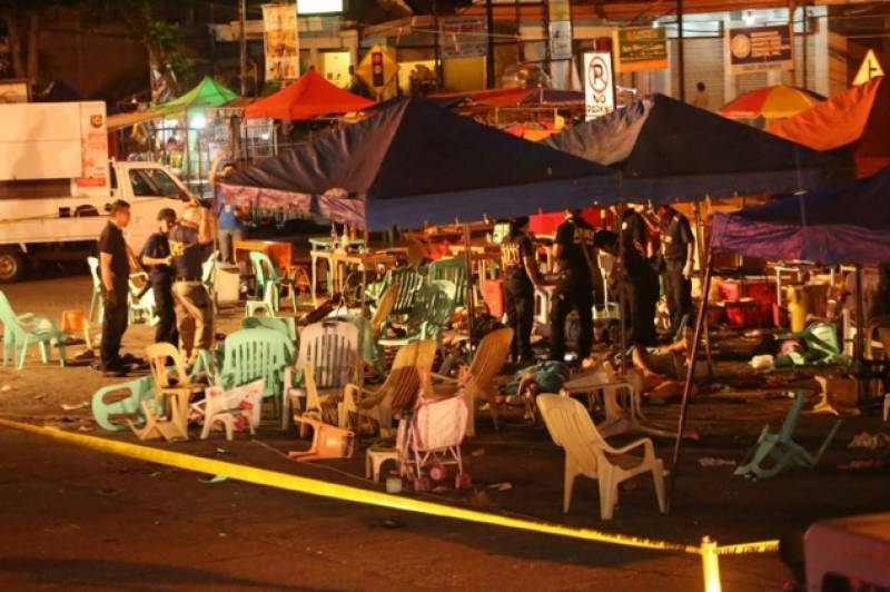 10 killed, 60 injured in Philippines after a bomb attack