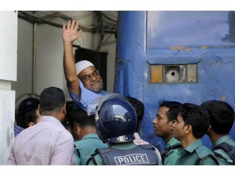 Bangladesh JI leader Mir Quasem Ali likely to be hanged tonight for 1971 war crimes