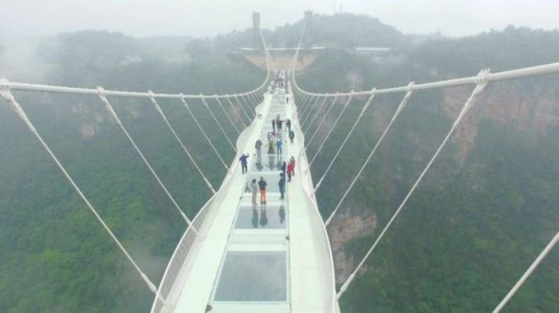 Here is the reason why China has closed world's longest-highest glass bridge just 13 days after its opening
