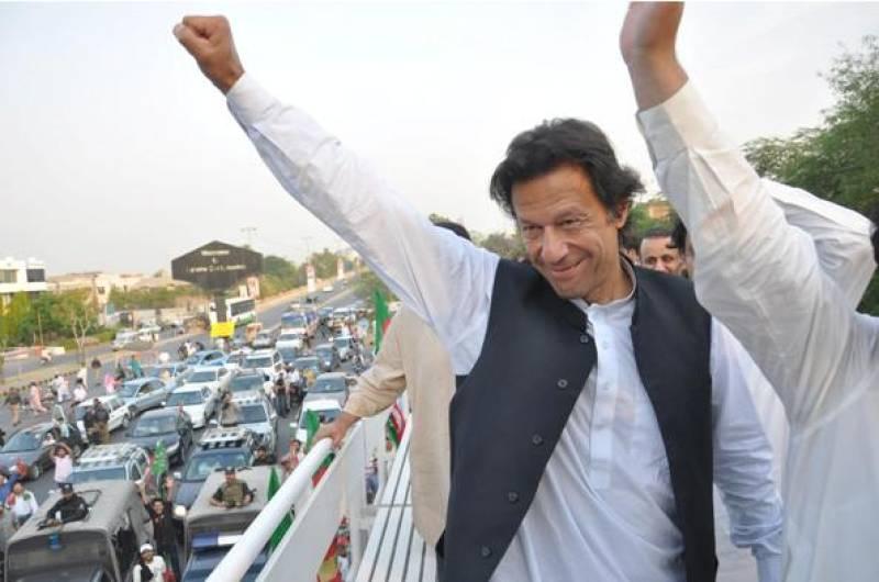 Imran Khan leads Ehtesab rally to The Mall; Tahirul Qadri marches on Rawalpindi for Tehreek-e-Qisas