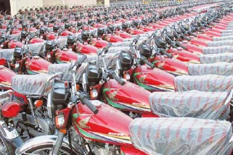 Motorcycle production in Pakistan up by 16.54% in FY16