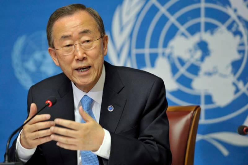UN Secretary-General Ban Ki-moon denounces Mardan blasts