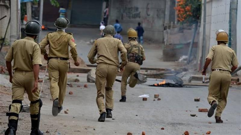 250 injured amid fresh clashes in Occupied-Kashmir