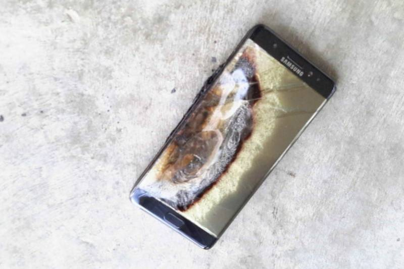 Another Samsung Galaxy Note 7 phone explodes in Australia