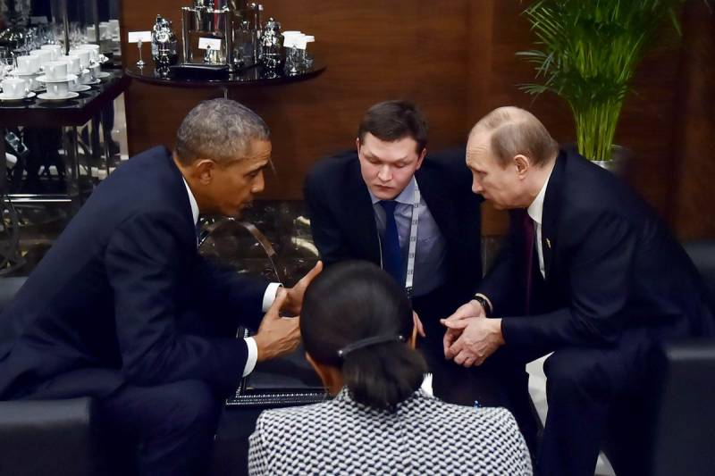 Obama, Putin hold informal meeting as US and Russia fail to reach deal on Syria