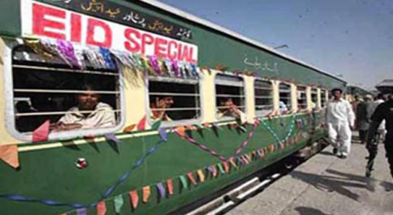 Pakistan Railways to run 8 'Special Trains' on Eid-ul-Azha