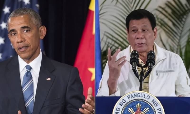 Philippines' President tells the United Nations