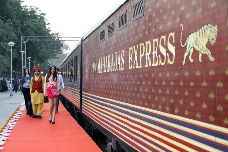 This luxury Indian train is 'a five star hotel on wheels'